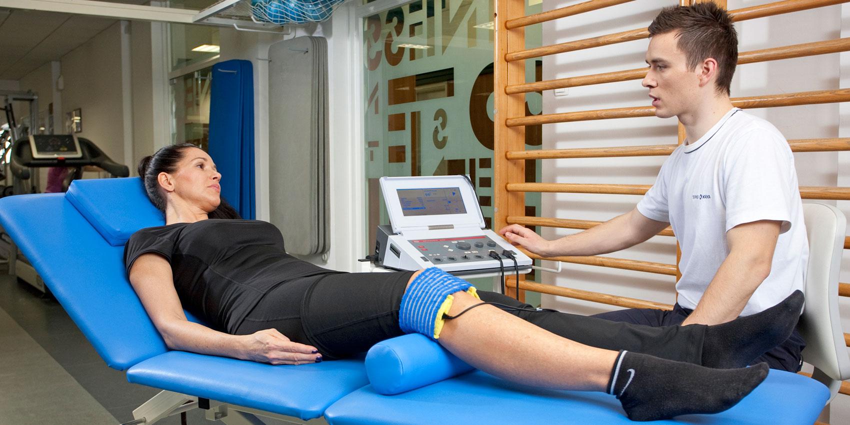 Riabilitazione di mantenimento dopo infortuni e interventi chirurgici al ginocchio