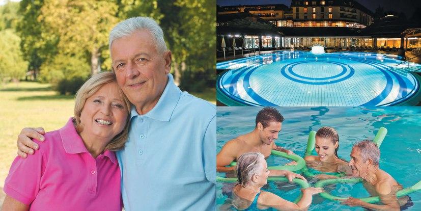 Оздоровительный отдых в Терме Крка для родителей и людей 50+